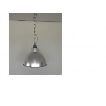 Bmc Klokarmatuur Aluminium Reflector E27 Incl. Ketting Kap Pvc Met Alu Rand
