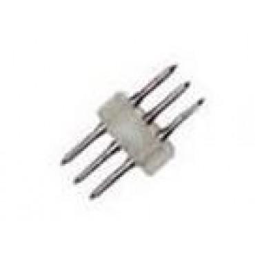 Lichtslang Aansluitpen 13Mm 3X Pin Doorverbinder Driedraads Lichtslang