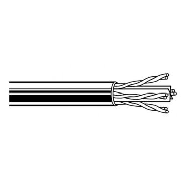 Belden U/UTP Kabel CAT6E 4x2xAWG23 100meter Unbonded Pairs Grijs Netwerk 7965E