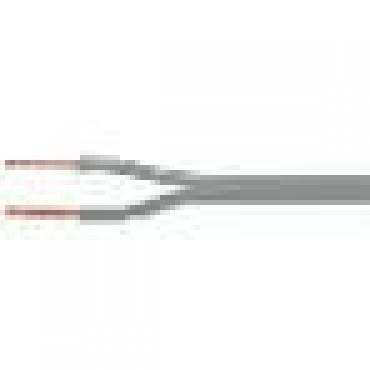 Luidspeakersnoer Lsp 2X0.75Mm Grijs Geen Polariteit Ring A 100M