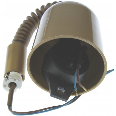 Trekpendel Zonder Lamphouder E27 2x0.75mm2 Goud Max 4.5Kg