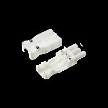 Adels Wieland Losse Stekker 2.5mm GST18I3 Female Wit Vlak schroefaansl