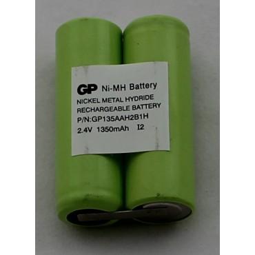 G.P Batterij Shaver Nimh 135Aah2B1H 2.4V Pack Voor Philipsshaver