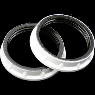 Ring Voor Lamphouder E14 Wit Dun