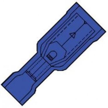 Klemko Volledig geisoleerde rondstekerhuls 4mm voor draad 1,5-2,5 mm2 101300 - IS 2504 HO