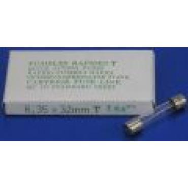 Glaszekering 160 M-Amp Groot Snel 6X32Mm