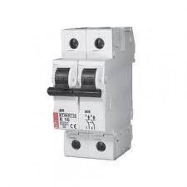 Eti Etimat10 Installatie Automaat 16A B-Kar 1-Fase+N 2-P 002122716