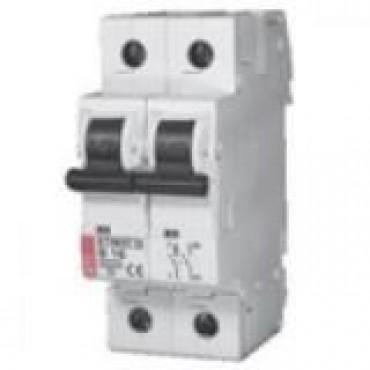 Eti Etimat10 Installatie Automaat 6A B-Kar 1-Fase+N 2-P 2Modules Breed 002122712