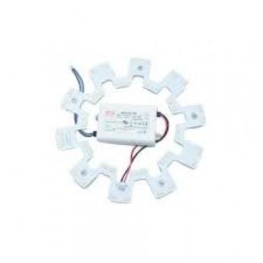 Bmc Led Magneetplaat Voor Armatuur 30W 3257Lumen 2700K Rond 270X9Mm