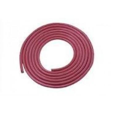 Siliconen Hittebestendig 1x0.75mm2 Rood Ring 100meter