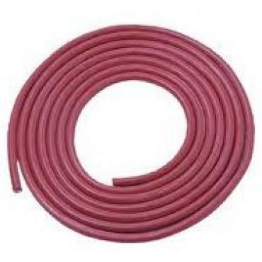Siliconen Hittebestendig 2x2.5mm2 Rood Ring 100meter