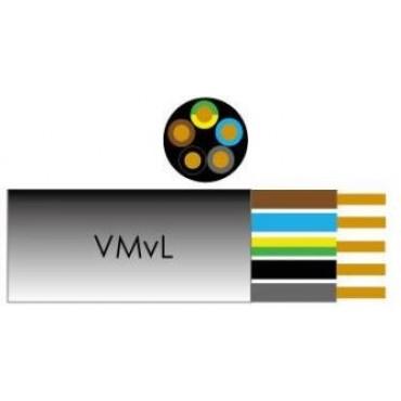 Vmvl Kabel 5X2.50Mm Wit Per Meter Ho5 Vv-F